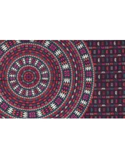 """Fialový přehoz přes postel, """"Naptal"""" design,  140x210cm"""