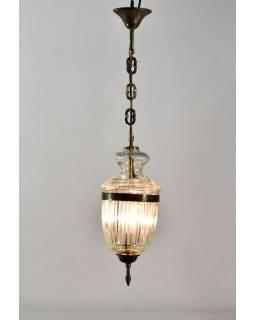 Sklenená lampa, 15x37cm