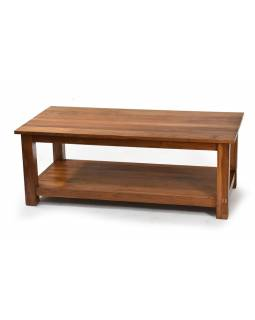 Konferenčný stolík, antik teakové drevo, 120x60x45cm