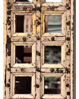 Zrkadlo v ráme zo starej okenice, 40x145x5cm