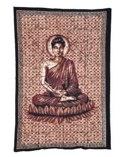 Prikrývka s potlačou, Budha, 200x140cm