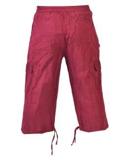 2378d7ae97d8 Vínové trojštvrťové unisex nohavice s vreckami