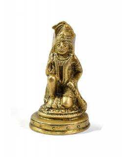 Hanuman, mosadzná soška, 7cm