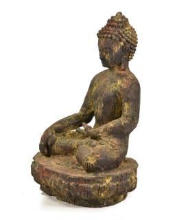 Unikátny socha, Budha sediaci na podstavci, 60cm