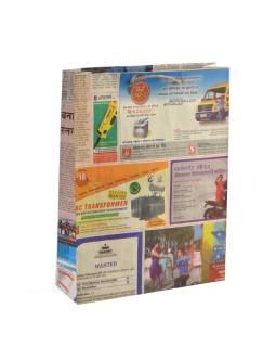 Papierová taška, noviny, 34x26cm