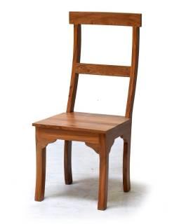 Jedálenská stolička z teakového dreva, 45x54x107cm
