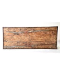 Rozkladací stôl z recyklovaného teakového dreva, 181x76x77cm