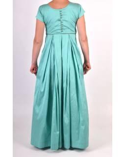 """Luxusné indické šaty """"Anarkali"""", mentolovo zelené, šál a legíny"""