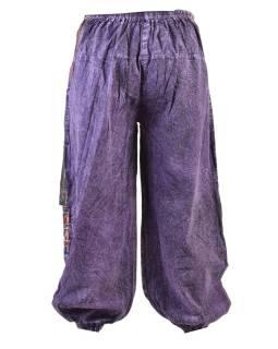 Unisex balónové nohavice s vreckami, stonewashed dizajn