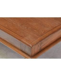 Konferenčný stolík z teakového dreva, 170x90x45cm