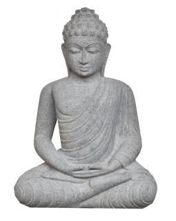 Kamenná socha, Budha Amitábha, žula, 75cm
