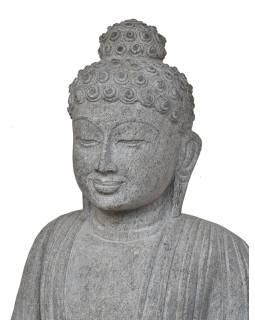 Kamenná socha, Budha Amitábha, podstavec, žula, 110cm