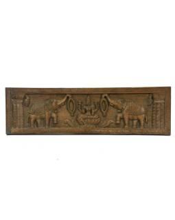Vyrezávaný panel Goja Laxmi, 91x26x5cm