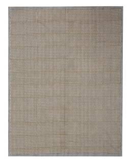 Posteľná prikrývka, potlač slonov, ručné práce, prešívanie, béžovo-hnedý 218x272cm