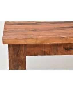 Stôl zo starých teakových fošní, 180x90x77cm
