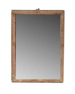 Zrkadlo v starom rámčeku, 19x26cm