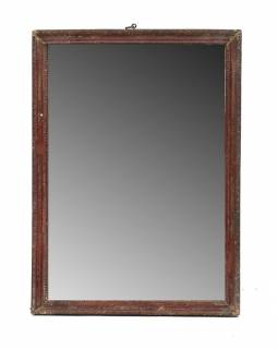 Zrkadlo v starom rámčeku, 27x36cm