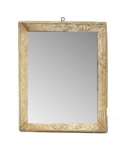 Zrkadlo v starom rámčeku, 23x29cm