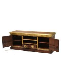 Komoda pod TV z palisandrového dreva, 150x45x60cm