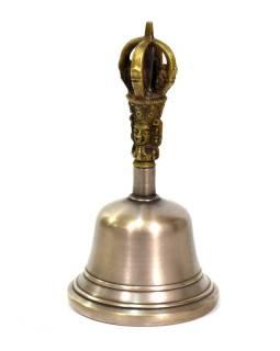 Zvonec, držadlo v tvare Dorji, 7x7x14cm
