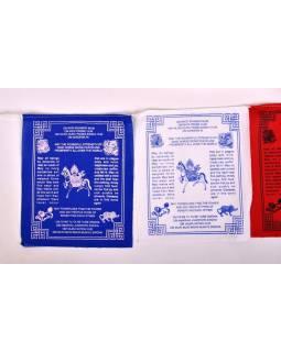 Modlitebné zástavky, 10 zástaviek 24,5x20,5 cm, potlač mantry, bavlna