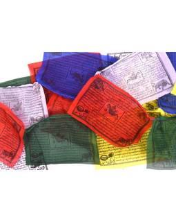 Modlitebné zástavky, 25x zástaviek, 29x19cm, čierna tlač, polyester