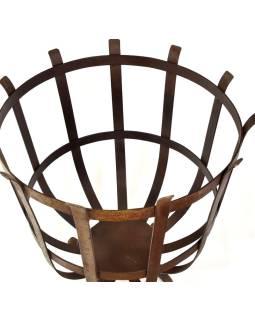 Železný kôš, 48x48x50cm