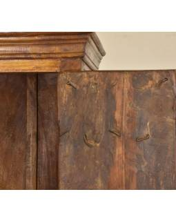 Skriňa z mangového dreva so starými dverami, 86x46x168cm