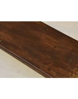 Lavice z teakového dreva, 152x26x30cm