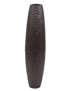Váza z palmového dreva, priemer 20cm, výška 82cm