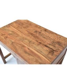 Písací stôl z teakového dreva, 90x60x75cm