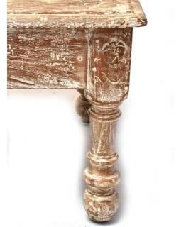 Konferenčný stolík z teakového dreva, 159x68x49cm