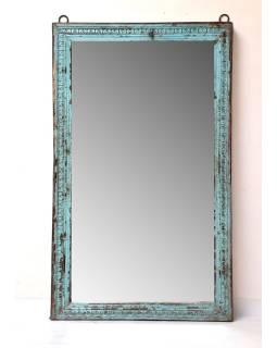 Zrkadlo v ráme z teakového dreva, 105x9x176cm