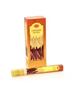 Indické vonné tyčinky Cinnamon, HEM, 23cm, 20ks