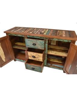 """Komoda v """"GOA"""" štýle z teakového dreva, 150x45x90cm"""