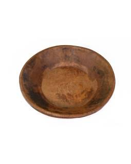 Drevená misa z mangového dreva vydlabaná z jedného kusu, 57x57x14cm