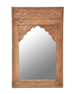 Zrkadlo v ráme z mangového dreva, 76x6x120cm