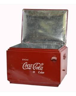 """Plechová chladnička """"Coca Cola"""", 57x44x40cm"""