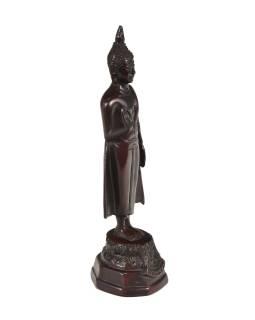 Narodeninový Budha, pondelok, hnedý, živice, 25cm