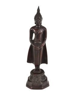 Narodeninový Budha, nedeľa, hnedý, živice, 25cm