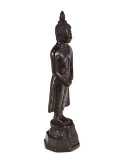 Narodeninový Budha, nedeľa, živice, tmavo hnedý, 30cm