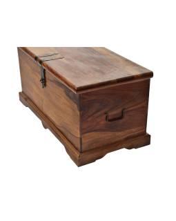 Truhla z palisandrového dreva, 85x40x40cm