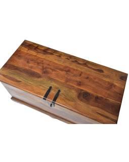 Truhla z palisandrového dreva, 105x50x50cm