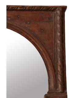 Zrkadlo v ráme z teakového dreva, 85x15x215cm