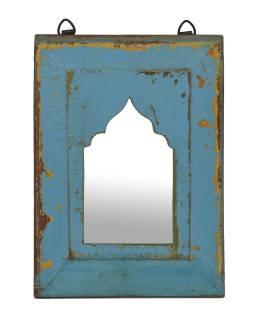 Zrkadlo v ráme z teakového dreva, 22x3x31cm