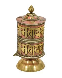 Stolové modlitebný mlynček, mantry, 23cm