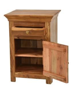 Nočný stolík z mangového dreva, 50x40x70cm