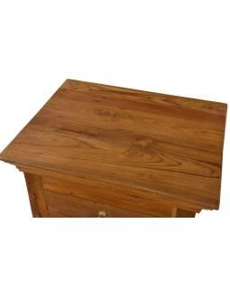 Nočný stolík vyrobený z mangového dreva, 50x40x70cm