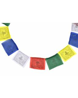 Modlitebné zástavky, 10x zástaviek, 17x17cm, čierna tlač, polyester
