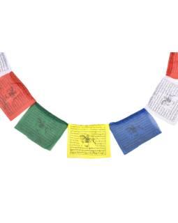 Modlitebné zástavky, 25x zástaviek, 14x13cm, čierna tlač, polyester